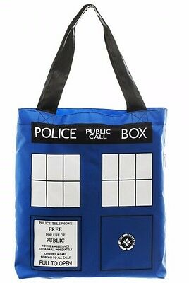 Doctor Who Tardis PACKABLE w/Zippered Envelope TOTE BAG