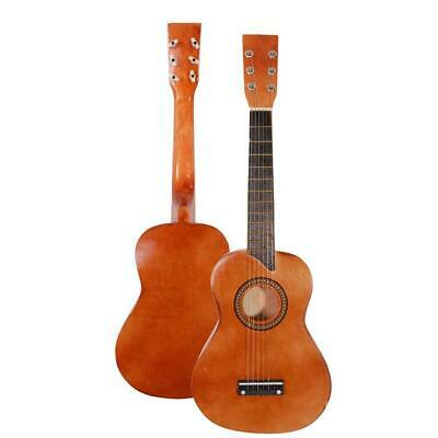 "25"" Beginners Kids Acoustic Guitar 6 String with Pick Children Kids Gift Coffee"