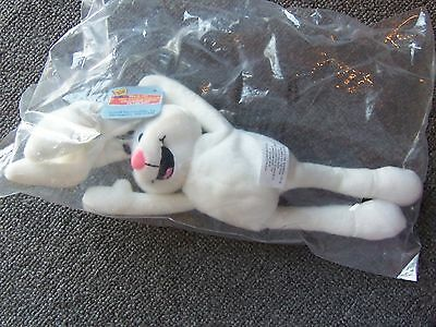 New General Mills Breakfast Pals Plush Bean Bag Toy '98 Trix Rabbit