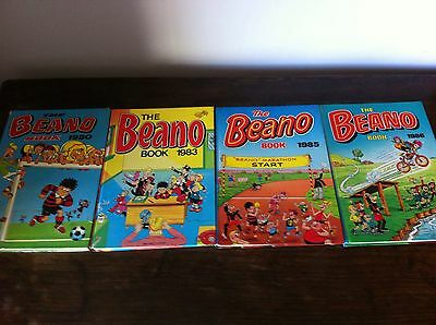 The Beano Book Annual Job Lot 1980 1983 1985 1986