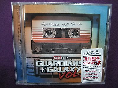 Soundtrack / Guardians Of The Galaxy 2 : Awesome Mix Vol. 2 OST CD NEW SEALED