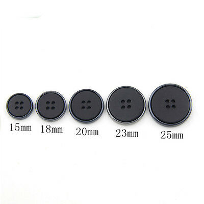 10Pcs Man Suit Button Fastener Needlework Windbreaker Sewing Supplies15mm-25mm