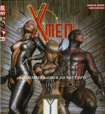 UNCANNY X-MEN 20 GRANOV Panini French Euro Variant MAGIK Frost Cyclop 1:50 Cover