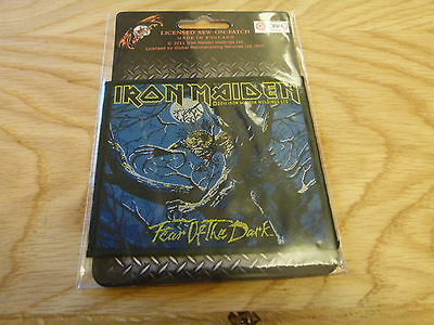 Iron Maiden - Fear Of The Dark (New) Sew On W-Patch Official Band Merchandise