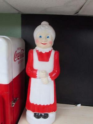 "Vintage 40"" Union Don Featherstone Mrs Claus Christmas Blow Mold"