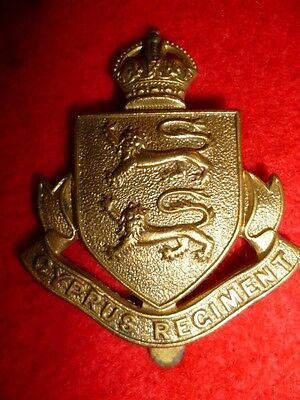 The Cyprus Regiment OR's KC Cap Badge