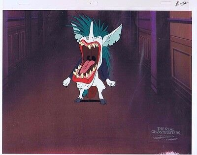 The Real Ghostbusters Original Production Animation Cel & Copy Bkgd #A20538