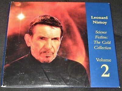 1995 Leonard Nimoy (Spock Star Trek) Science Fiction: Gold Collection-Volume 2