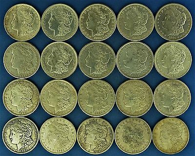 Lot of (20) 1921 Silver Morgan Dollars (a79.15)