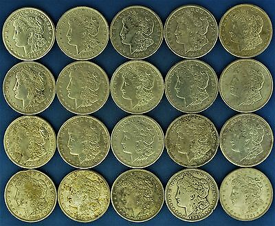 Lot of (20) 1921 Silver Morgan Dollars (a79.17)