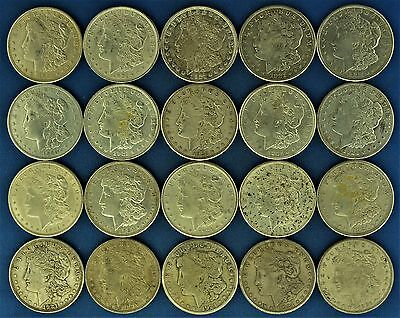 Lot of (20) 1921 Silver Morgan Dollars (a79.18)