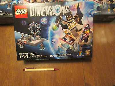 Lego Dimension PART of Starter Pack 4 MINIFIGURES PS4 XBOX ONE No GAME No PORTAL