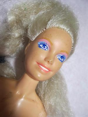1980s Habro Jem & the Holograms Doll-Blonde Jointed TLC