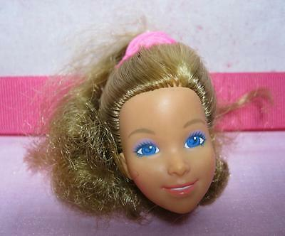 1980s Barbie Doll HEART FAMILY MOM MOTHER part HEAD ONLY DOLL-PONYTAIL