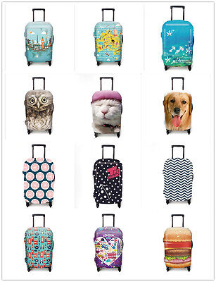 """Elastic Travel Luggage Cover Dust-proof Protective Suitcase Cover Suit for18-32"""""""