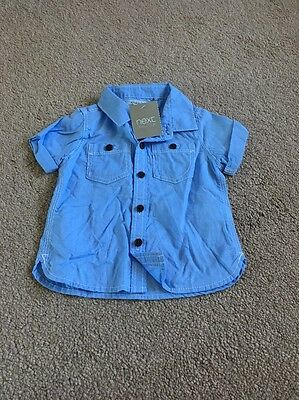 Baby Boys Brand New With Tags Shirt Age 3-6 Months