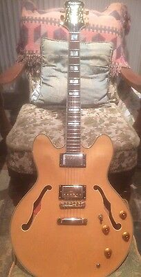 Epiphone Sheraton Semi Acoustic Electric Guitar Vintage