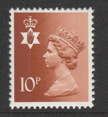 GB Northern Ireland 1976 Regional Machin 10p SG NI27 MNH