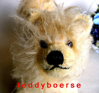 alter STEIFF HUND • CHOW CHOW • m. Knopf • made in US-ZONE • 17 cm • nur 1952-54