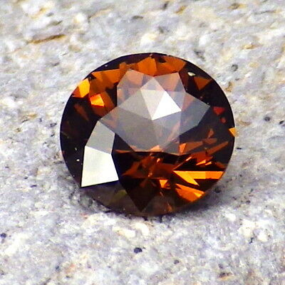 GENUINE MALI GARNET 1.08Ct FLAWLESS-AMAZING CINNAMON ORANGE COLOR-INVESTMENT!