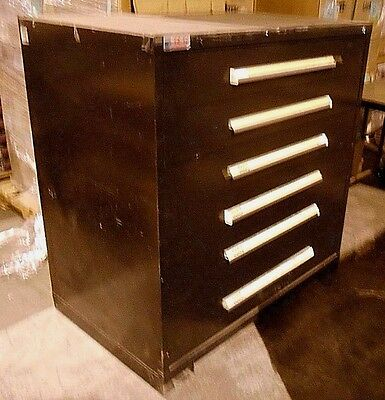 Rousseau 6 Drawer tool Chest Toolbox Garage Mechanic Storage Cabinet