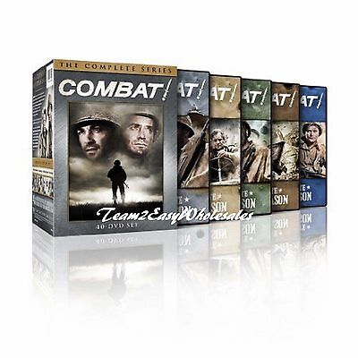 Combat! The Complete Series DVD Seasons 1,2,3,4,5 Disc Box Set New & Sealed 1~5