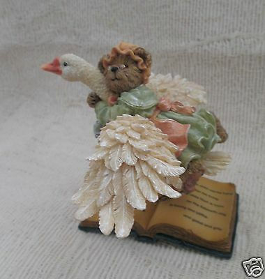 Retired Boyds Bears Resin Mother Goose...Once Upon A Time #2457-Sealed-NIB!