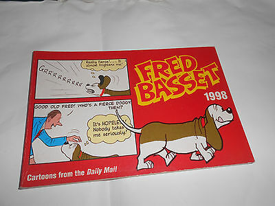 Fred Basset 1998 by Graham p/b