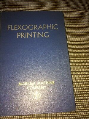 FllexoGraphic Printing By Boughton 1958 Vintage Book