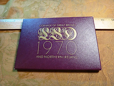 1970 Coinage Of Great Britain and Northern Ireland Mint Coin Set - Free S&H USA