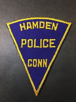 Hamden Connecticut Police Shoulder Patch