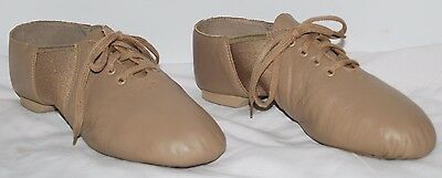Capezio Gold Series Split Sole Leather Dance Jazz Shoes Women's Size 10M NEW