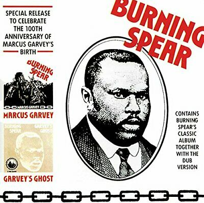 Burning Spear - Marcus Garvey / Garvey's Ghost - Burning Spear CD 5EVG The Cheap