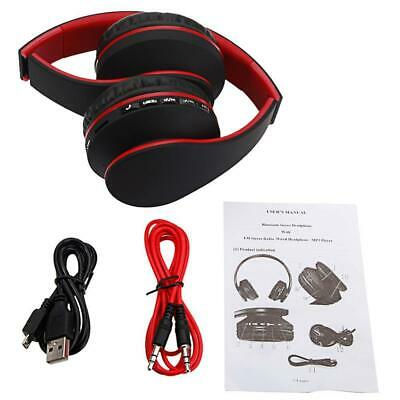 Foldable Wireless Bluetooth Headsets Stereo Headphones Sport Earphone  Universal