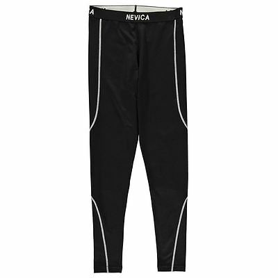 Nevica Kids Thermal Pants Junior Boys Warm Elastic Training Sports Bottoms