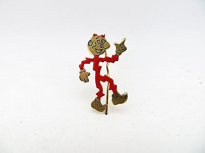 Vintage Reddy Kilowatt Advertising Electric Character Stick Lapel Pin