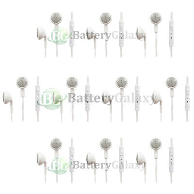 10 Headphone Earphone Headset Handsfree Earbuds for iPhone / Android Cell Phone