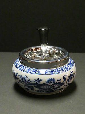Hutschenreuther BLUE ONION Vintage Spin Away Ashtray  - Germany