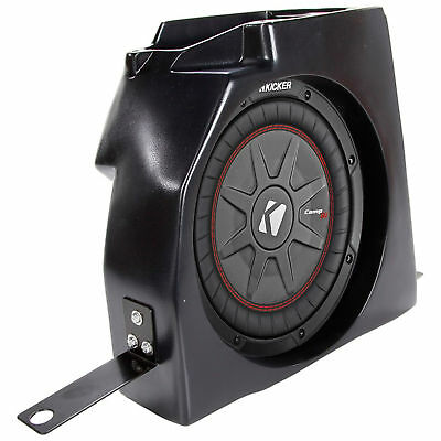 "1997-2006 Jeep Wrangler TJ 10"" COMPRT Kicker Subwoofer+Center Console Enclosure"