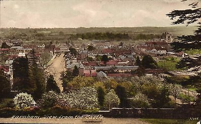 Farnham. View from the Castle # 75288 by Frith.