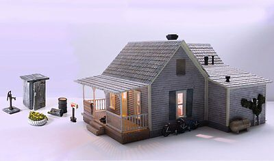 Woodland Scenics BR5860, O Scale, Built & Ready Old Homestead w/ LED Lighting