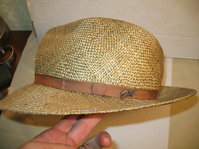 Vintage Bailey Of Hollywood Straw Hat, Donovan Fedora
