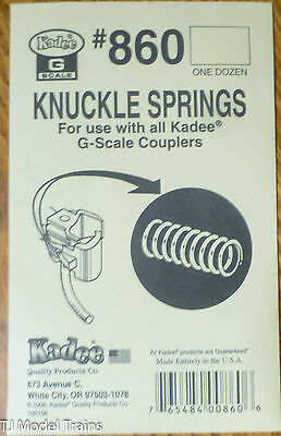 Kadee #860 (G Scale) Knuckle Springs -- For All Kadee G Scale Couplers