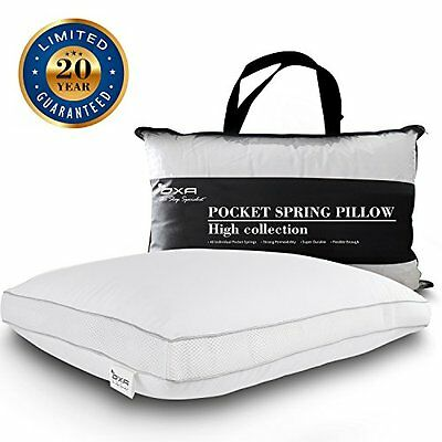 SPRING BED PILLOWS Newest Breathable Neck and Back Pain-Relieving Sleeping Pillo