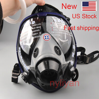 Sale! US Full Face Painting Spraying anti-dust Gas Mask For 3M 6800 Respirator