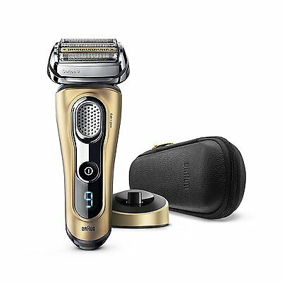 Braun Series 9 9299s Limited Edition Electric Rechargeable Wet/Dry Shaver - GOLD