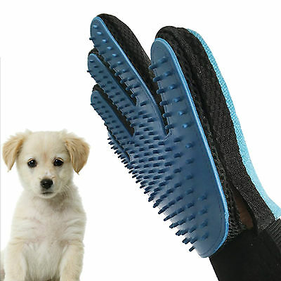 Ultra-Smart Magic Soft Glove Pet Dog Cat Massage Hair Removal Grooming Groomer
