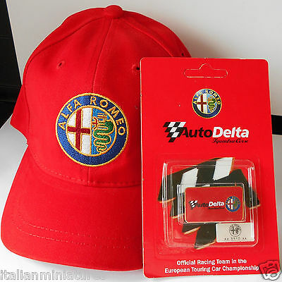 Alfa Romeo Baseball Cap Boys Girls Kids Small Size Official Product & Free Badge