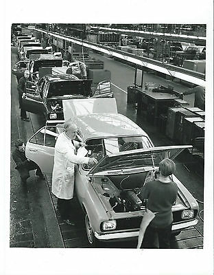 Chrysler Sunbeam Hillman Avenger Ryton Production Line Original Press Photograph