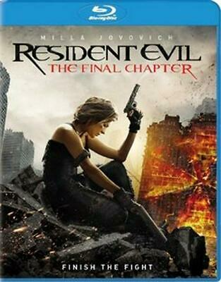Resident Evil: the Final Chapter - Blu-Ray Region 1 Free Shipping!